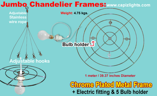 chandelier two frame abbey tier by