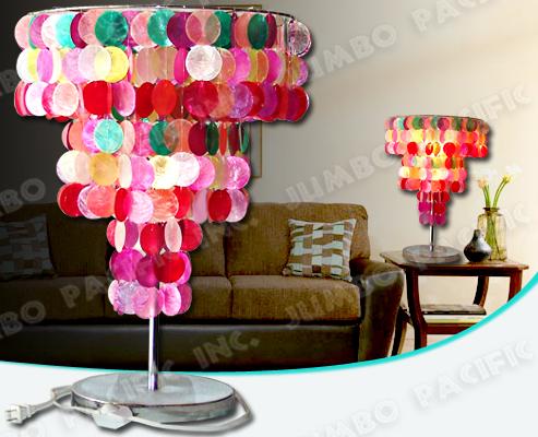 Tonalità di lampada di Capiz