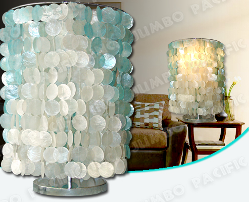 Capiz curtains table lamp shades capiz shell home decoration and capiz lamp shades aloadofball Image collections
