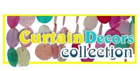 Collection de rideau en Capiz