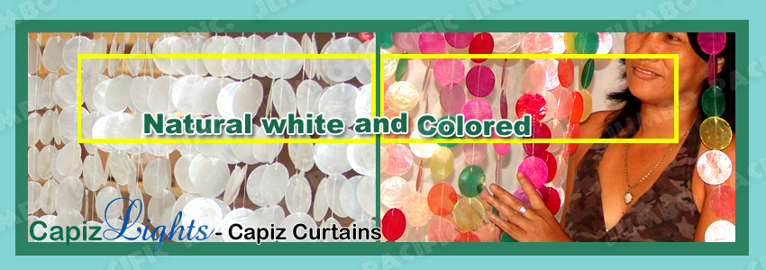 Capiz Curtain