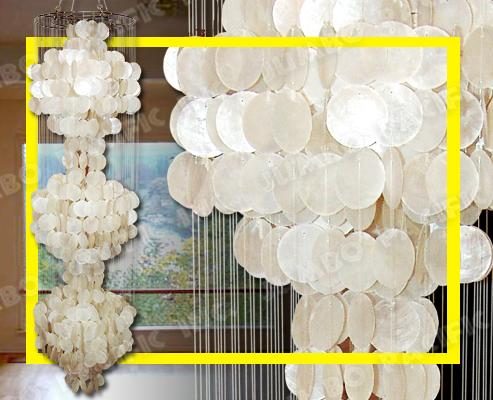 Capiz Chandeliers I Hanging Capiz Chandeliers I Capiz Lights – Capiz Shell Chandelier Lighting