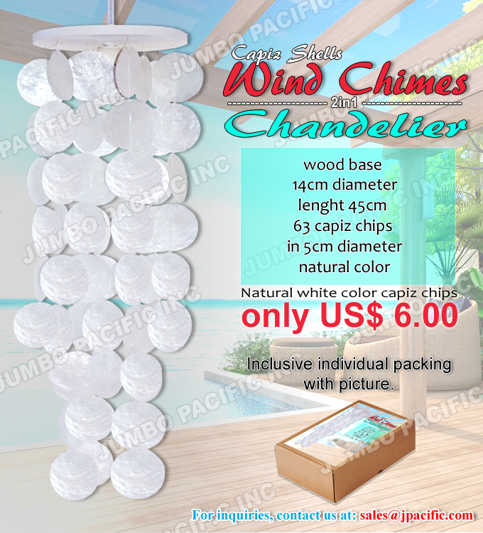 capiz wind chimes or windchimes manufacturer