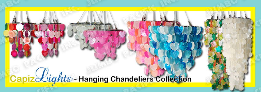 Capiz Hanging Lamps
