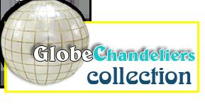 Capiz Globe Chandelier